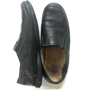Spring Step Camillo Mens Black Slip on loafers